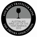 2015 Wine List Award